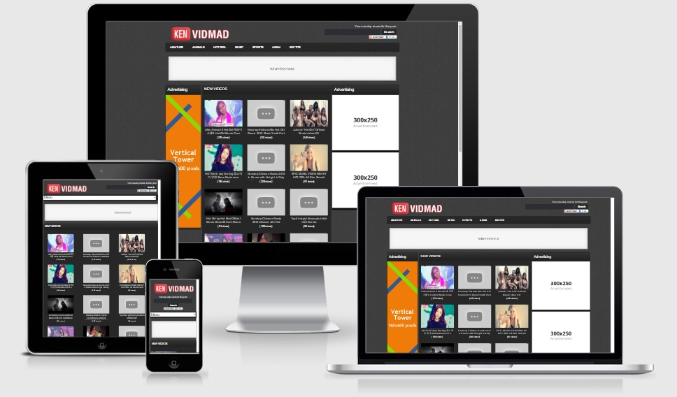 VidMad WordPress Theme Responsive