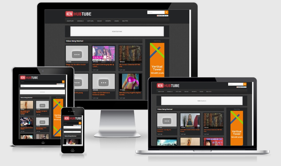 HubTube WordPress Video Responsive Theme
