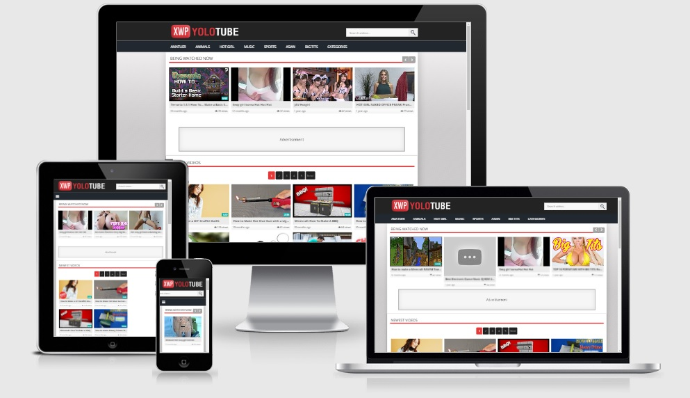 YoloTube WordPress Video Responsive Theme